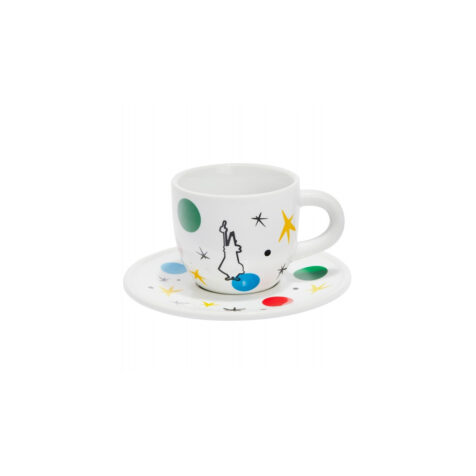 Bialetti Art Miro Cup With Saucer 200 ML
