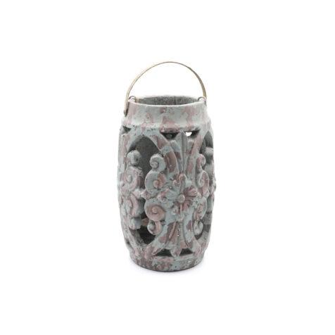 Super Decorative Candleholder With Handle 19x25 CM