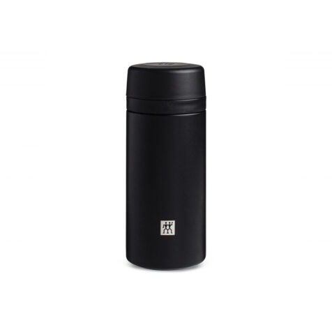Zwilling Thermal Sport Bottle With Infuser Black 420 ML