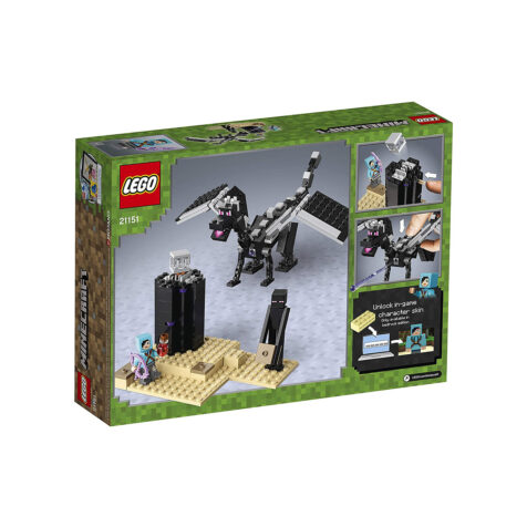 Lego-Minectraft The End Battle 222 Pieces