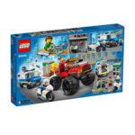 კუბიკები 362 ერთეული City Police Monster Truck Heist Lego