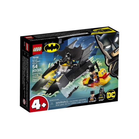 Lego-Batman Batboat The Penguin Pursuit 253 Pieces