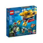 კუბიკები 286 ერთეული City Ocean Exploration Submarine Lego