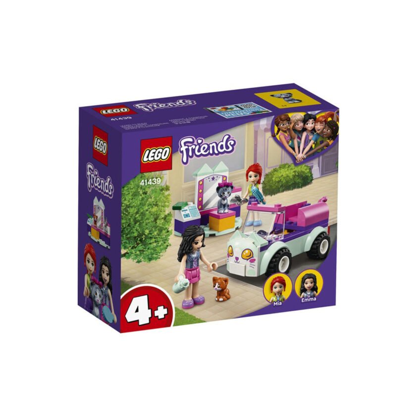 Lego-Friends Cat Grooming Car 60 Pieces