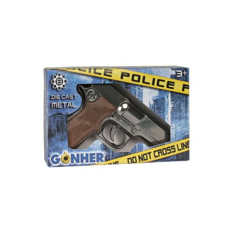 Gonher Police Revolver 8 Shots 17 CM