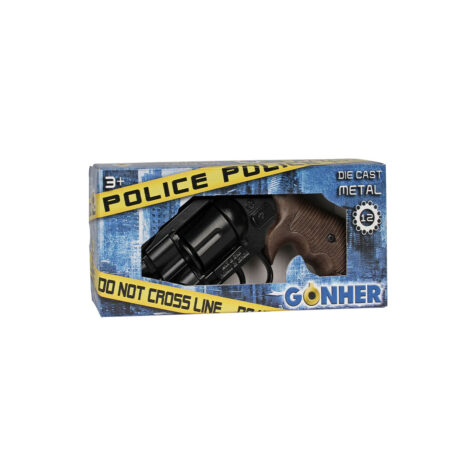 """Gonher Police Revolver 12 Shots 21 CM"""