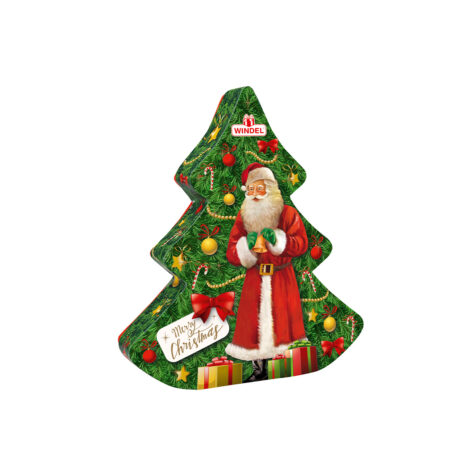 """""""Windel Christmas Tree Chocolate Pieces Filled With Milk And Praline Cream 126 G"""