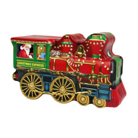 Weindel Christmas Locomotive Chocolate Pieces Filled With Milk And Hazelnut Cream 123 G