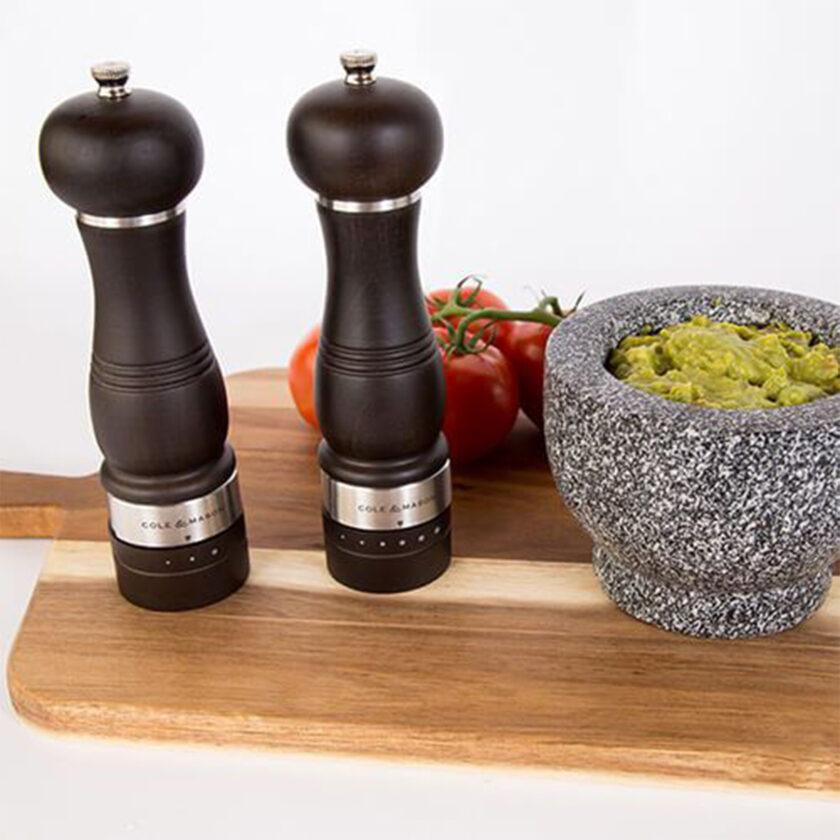 Cole & Mason Ardingly Set Salt And Pepper Grinder 22 CM