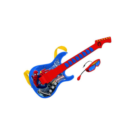 Reig-Marvel Spider Man Guitar 60 x 21.5 CM