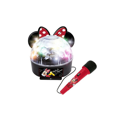 Reig-Disney Minnie Mouse Minnie and You Ball Lights With Amplifier, Bluetooth And Microphone 20 CM
