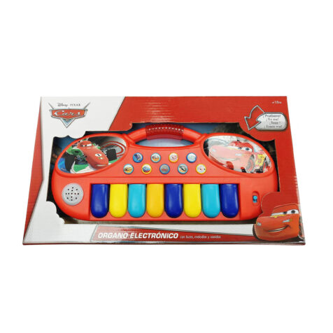 Reig-Disney Cars 24-Key Electric Keyboard 32 CM
