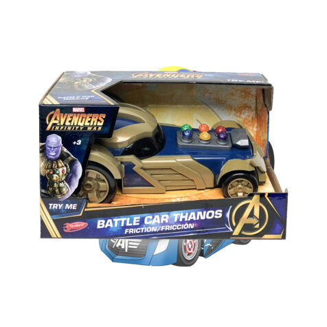 Yellow-Marvel Avengers Infinity War Battle Car