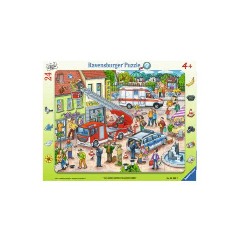 Ravensburger-Hurry Up Puzzle 24 Pieces 28x18 CM
