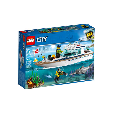 Lego-City Diving Yacht 148 Pieces
