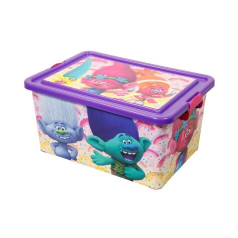 Store-Trolls Toy Storage Box 23 L