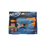 პლასტმასის თოფი 6 ტყვიით 20.3×26.7 სმ Nerf Elite Volt SD-1 Hasbro