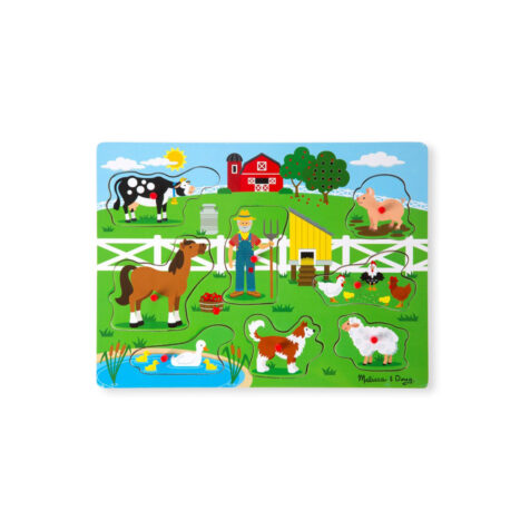 """""""Melissa & Doug-Musical Instruments Sound Puzzle With 8 Pieces """""""