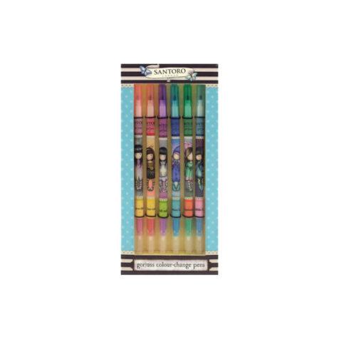 Santoro-Gorjuss Colour Change Pen Set 1x6