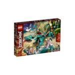 კუბიკები 506 ერთეული Ninjago Jungle Dragon Lego