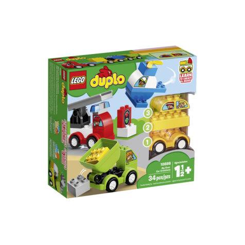 Lego-Duplo My First Car Creations 34 Pieces