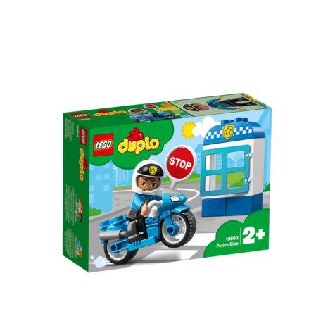 Lego-Duplo Police Bike 8 Pieces