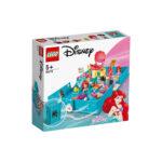 კუბიკები 105 ერთეული Ariel's Storybook Adventures Disney Lego