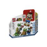 კუბიკები 231 ერთეული Adventures With Mario Starter Course Super Mario Lego