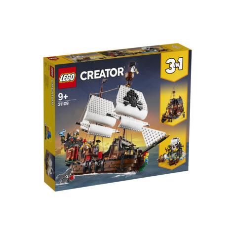 Lego- Creator Pirate Ship 3-in-1 1260 Pieces