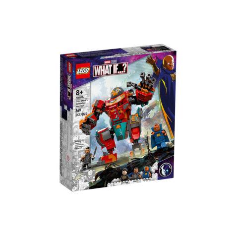 Lego-Marvel Tony Stark's Sakaarian Iron Man 369 Pieces