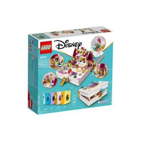Lego-Disney Ariel, Belle, Cinderella and Tiana's Storybook Adventures 130 Pieces