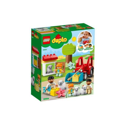 Lego-Duplo Farm Tractor & Animal Care 27 Pieces