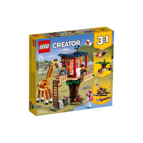 Lego-Creator Safari Wildlife Tree House 397 Pieces
