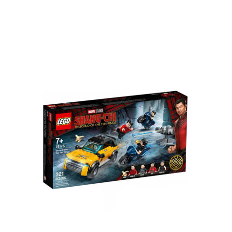 Lego-Marvel Escape from The Ten Rings 321 Pieces