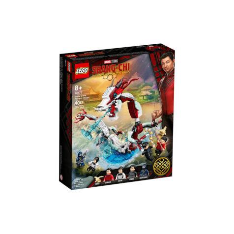 Lego-Marvel Battle at the Ancient Village 400 Pieces