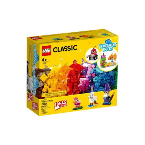 Lego-Classic Creative Transparent Bricks 500 Pieces
