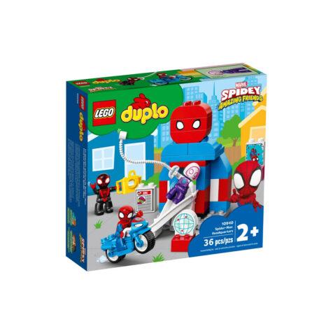 Lego-Duplo Marvel Spider-Man Headquarters 36 Pieces