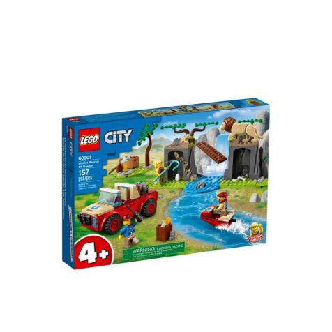 Lego-City Wildlife Rescue Off-Roader 157 Pieces