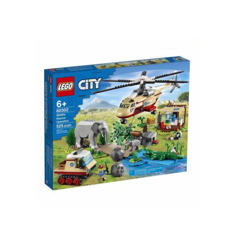Lego-City Wildlife Rescue Operation 525 Pieces