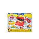საძერწი ნაკრები  ჰამბურგერების გასაკეთებელი Play-doh Kitchen Creations Hasbro